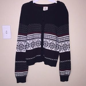 Girls Winter Sweater